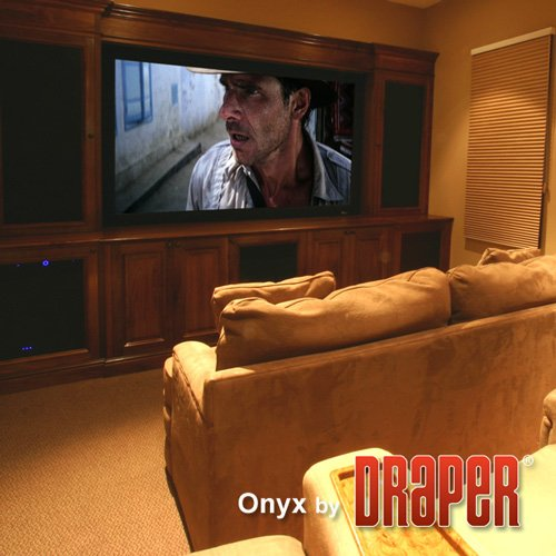 Onyx AT Grey Fixed Frame Projection Screen Viewing Area: 119