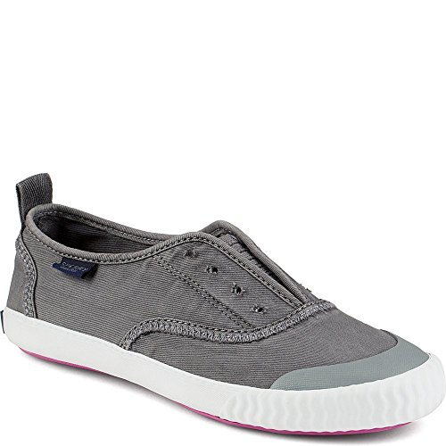 Sperry Womens Paul Sperry Sayel Clew Grey Sneaker 12 STS95587