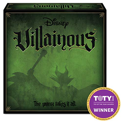 51jJt6KJG0L - Ravensburger Disney Villainous Strategy Board Game for Age 10 and Up - 2019 TOTY Game of the Year Award Winner