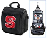 NC State Cosmetic Bag or Mens Shaving Kit – Travel Bag NC State Wolfpack Makeup, Bags Central