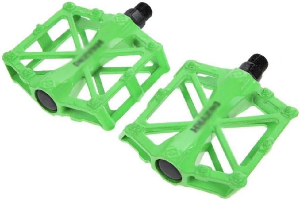 WOOAI Accesorios de Bicicleta Universal Pedales de Bicicleta de montaña MTB ultraligeros Aleación de Aluminio Plataforma de Bicicleta de Pedal Profesional