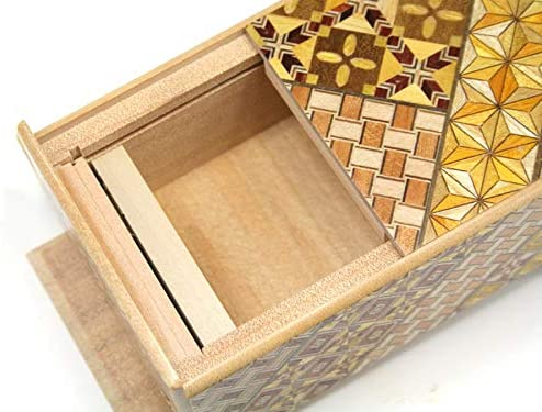LOGICA GIOCHI Art. Cofre Yosegi 4 - La Caja Secreta - Rompecabezas ...