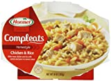 chicken and rice bowl - Compleats Hormel Chicken & Rice, 6-10-Ounce Microwavable Bowls
