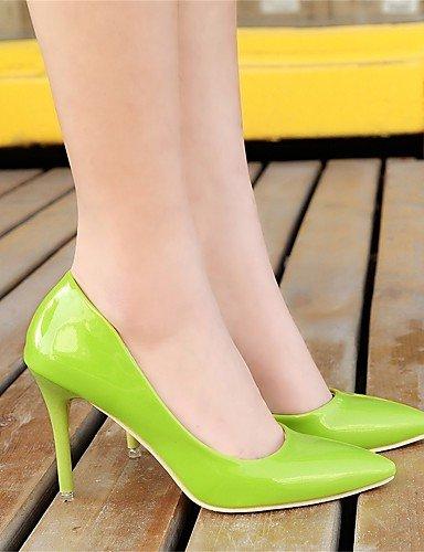 GGX/Damen Heels Frühjahr/Herbst Heels PU Casual Stiletto Heel andere schwarz/grün/pink/rot/silber Andere pink-us6 / eu36 / uk4 / cn36