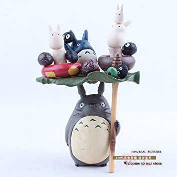 Anime Cartoon Miyazaki Hayao My Neighbor Totoro PVC Action Figure Collectible Model Toy Doll