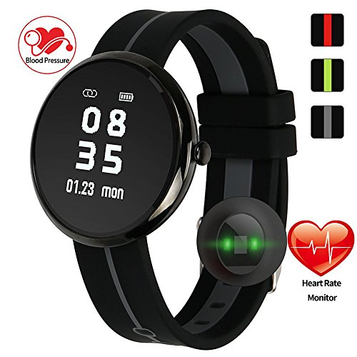 wonlex Fitness Tracker, Activity Tracker Watch with Heart Rate & Blood Pressure Monitor for Men Women, IP67 Waterproof Smart Bracelet Pedometer Wristband for iOS & Android Phones