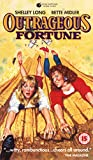 Outrageous Fortune VHS Tape