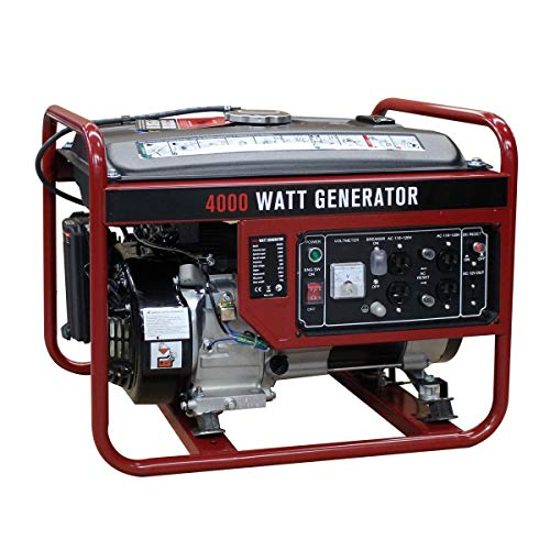 4 Stroke Single Cylinder Air Cooled Gas Powered 4000 Watt Gasoline Generator Professional Generator Which is Ideal for Creating Power Convenience Low Fuel Consumption but High Efficiency Portable Uncategorized
