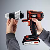 Black-Decker-BDCDMT120IA-20-Volt-MAX-Lithium-Ion-Matrix-Drill-and-Impact-Combo-Kit