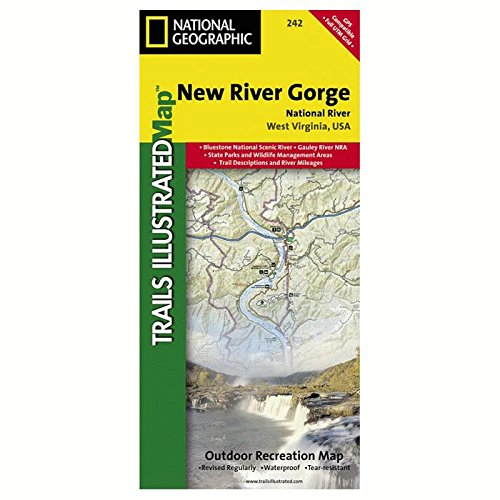 National Geographic New River Gorge #242 by West Virginia 242