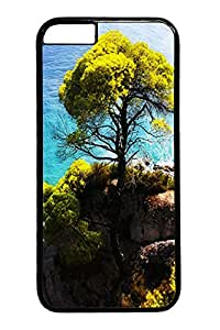 Skopelos Island PC Case Cover for iphone 6 plus 5.5inch black
