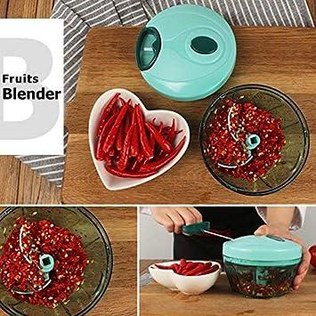 Picador de alimentos de 2 piezas, Picadores y cortadores de alimentos, Picador de verduras