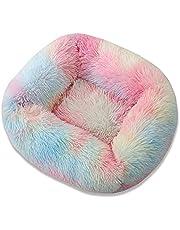 YH-KE Puppy Mat Foldable Washable Pet Dog Cat Sleeping House Nest Plush Pet Dog Bed Winter Warm Pets Bed Soft Mats House (Color : 43x35x20cm 3)