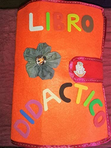 Libro didáctico - Libro sensorial- Libro de actividades