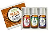 Peace & Harmony Blends Set 100% Pure, Best Therapeutic Grade Essential Oil Kit – 3/10mL (Love, Hope, and Zen)