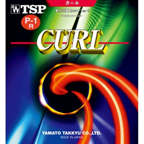 Buy Discount TSP Curl P1R / P1-R/P-1-R - Long Pips Table Tennis Rubber