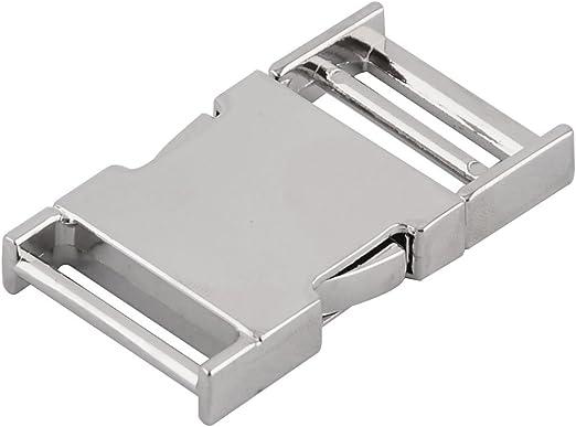 sourcingmap Mochila de pl/ástico correa ajustable Escalera de tensi/ón 15pcs bloqueo deslizante hebillas negras