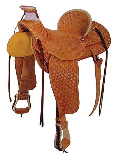 Buckaroo Saddle - Colorado Saddlery The Teton Valley Wade Saddle, 15-Inch