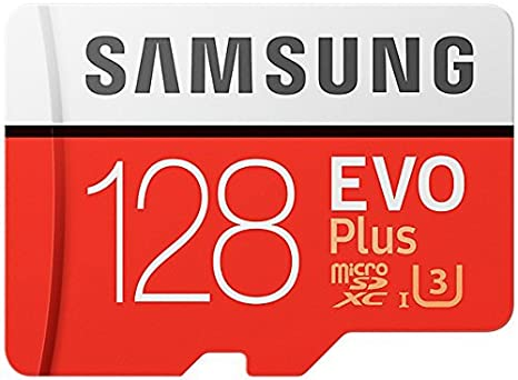 Amazon.com: Samsung 128 GB EVO PLUS clase 10 Micro SDXC con ...