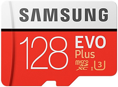Samsung Evo Plus Class 10 UHS-I microSDXC U3 with Adapter (128GB MB-MC128GA/APC) 1 Model: MB-MC128G/APC Read:up to 100MB/s with UHS-1 interface Write:up to 90MB/s with UHS-1 interface UHS-I, compatible to HS interface, Grade 3, Class 10, 4K