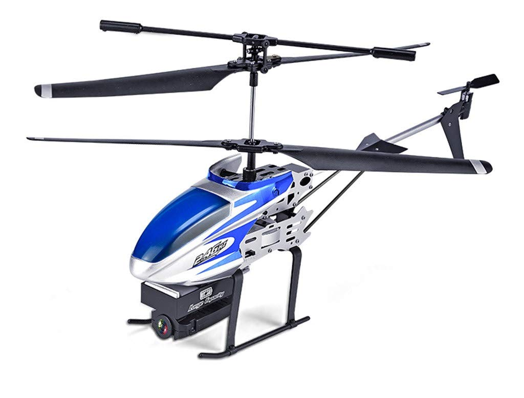 Ikevan_ 1 x Helicopter 2.4GHz 3.5CH RC 1080P WiFi Camera FPV RC Helicopter Quadcopter Drone Hover (Blue)