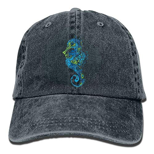 Fringe Men DEFFWB Seahorse Denim Skull Hats for Cap Cowboy Sport Hat Women Cowgirl w1q1SEHPRx
