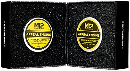 MIP Appeal Engine Set Men's Solid Perfume 0.35oz 2EA Gentleman Hug + Huntingman Hug