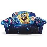 Marshmallow Furniture, Flip Open Sofa, SpongeBob