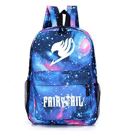 FOCUS-COSTUME Fairy Tail Gray Fullbuster Logo Large School bag