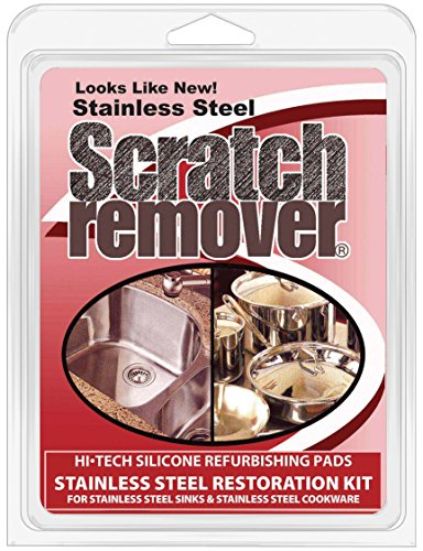 (Siege 63001 Stainless Steel Sink and Cookware Scratch Remover)