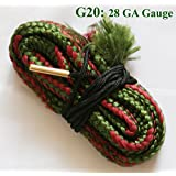 New Bore Snake Cleaning Boresnake Shotgun Gun Barrel Cleaner 28 GA Gauge Hunting Kit