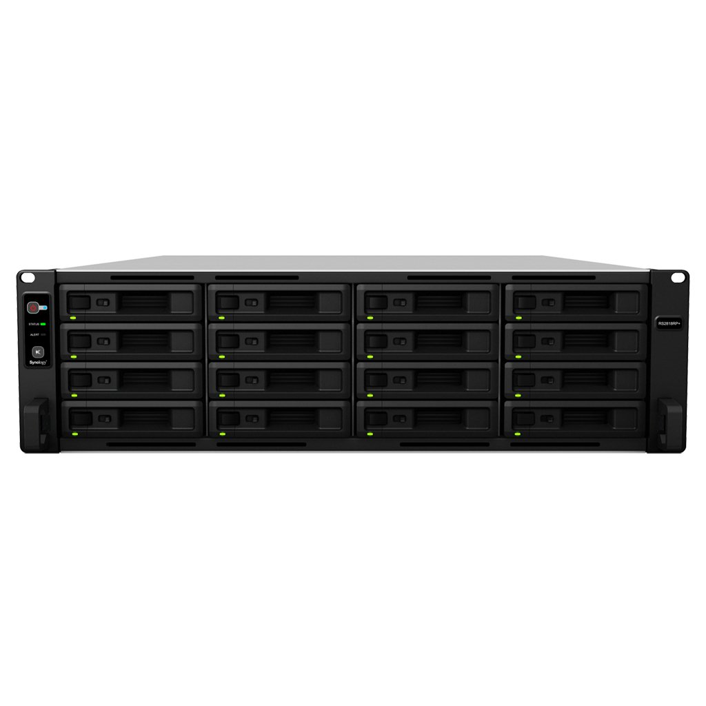 Synology RackStation RS2818RP+ - servidor NAS - 0 GB