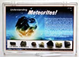 Understanding Meteorites Rock Study Collection Set with Free Mars Analog Soil