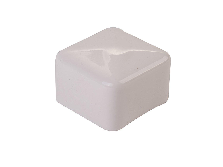 Unistrut 1-5//8 Plastic White End Cap Lot of 50 BHBUKPPAZINH5753