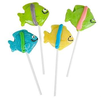 Amazon.com: Kidsco - Lote de 12 ventosas de caramelos con ...