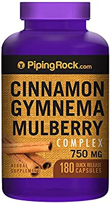 Cinnamon Gymnema Mulberry 1500 mg Complex