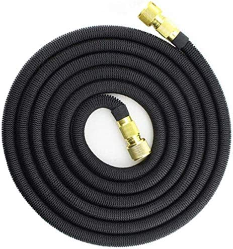 Lanxing 25FT-75FT Garden Hose Expandable Magic Flexible Water Hose Hose Plastic Hoses Pipe With Coppe Gun To Watering,single hose,25FT