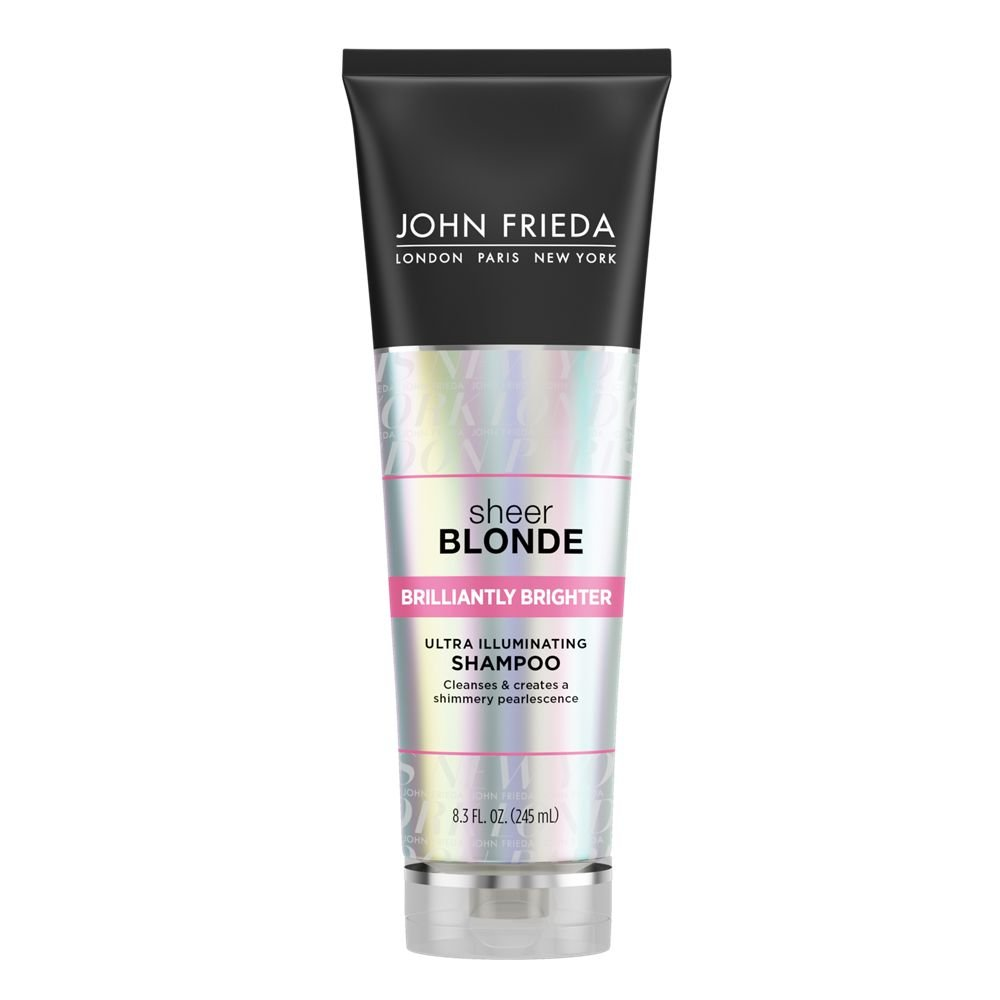 John Frieda Sheer Blonde Brilliantly Brighter Ultra Illuminating Shampoo, 8.3 Ounces