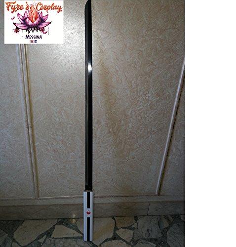 Large 40″ Naruto Sasuke Kusanagi Grass Cutter Steel Ninja Sword Katana Cosplay