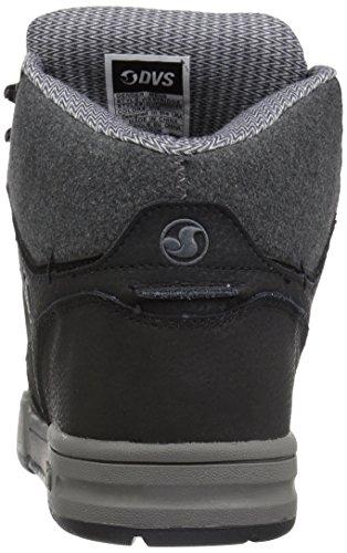 Botas Dvs Ben Ferguson Westridge Negro Leather (Eu 44.5 / Us 10.5 , Negro)