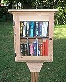 good looking patio door design ideas pictures Tiny Library, with shelf, handmade cedar.