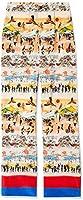 Deveaux New York Womens's Postcard Print Lounge Pants