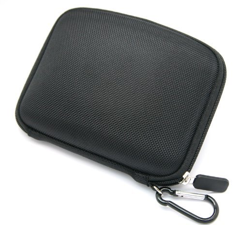 JNTworld Black 5 inch Hard Carrying Case for