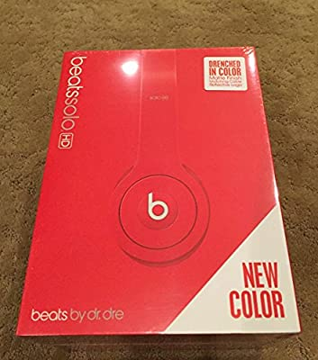 Beats Dr. Dre On-ear Solo Hd Drenched Headband Headphones - Red