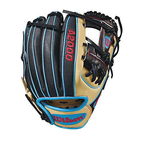 (Wilson A2000 DP15 SuperSkin Pedroia Fit 11.5