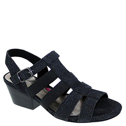 Ros Hommerson Wish Women's Sandal 7.5 2A(N) US Black-Denim