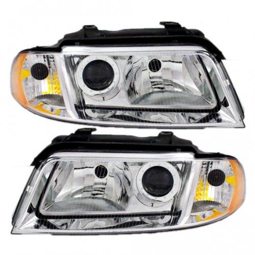 New Headlamp Headlight - OEM: 8D0941029AQ, OEM: 8D0941030AQ, Pair Set ()