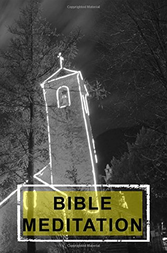 Bible Meditation: Blank Prayer Journal, 6 x 9, 108 Lined Pages