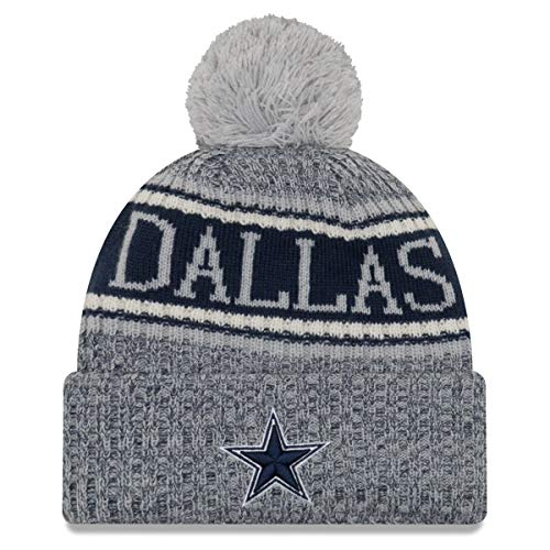 悪いシチリア改善ニューエラ (New Era) NFL サイドライン Reserve ビーニー帽 ダラス?カウボーイズ (Dallas Cowboys)