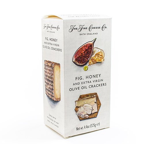 (Specialty Crackers from The Fine Cheese Co. - Fig (4.4 ounce) )